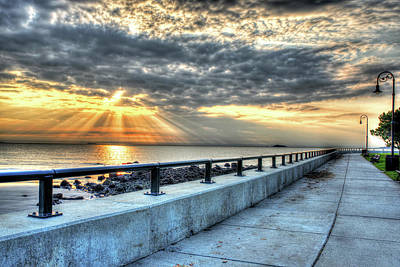 Photograph - Sunrise Over Red Rock Park Lynn Ma Path by Toby McGuire