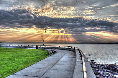 Photograph - Sunrise Over Red Rock Park Lynn Ma by Toby McGuire