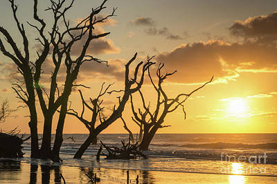 Sunrise Over Sea Art Print