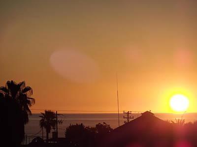 Sunrise Over Sea Of Cortez Art Print by Staci Black