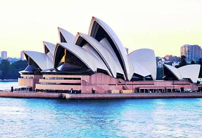 Photograph - Sunrise Over Sydney Opera House by Kirsten Giving