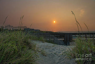 Photograph - Sunrise Over The Atlantic by Dale Powell