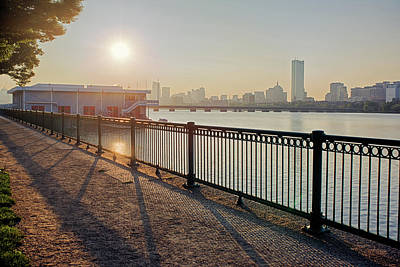 Photograph - Sunrise Over The Charles River Shadow by Toby McGuire