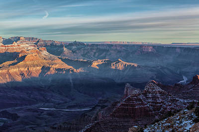 Photograph - Sunrise Over The Grand Canyon by Jonathan Nguyen