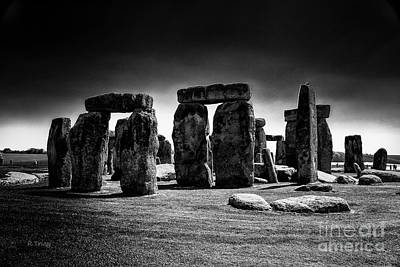 Photograph - Sunrise Over The Historic Stonehenge by Rene Triay Photography