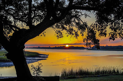Gerald Monaco Photograph - Sunrise Over The Icw by Gerald Monaco
