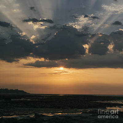 Photograph - Sunrise Over The Isle Of Wight by Clayton Bastiani