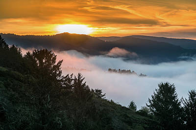 Photograph - Sunrise Over The Mists by Greg Nyquist