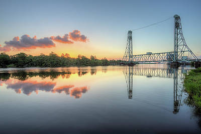 Photograph - Sunrise Over The Neches River In Beaumont by JC Findley