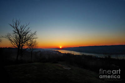 Photograph - Sunrise Over The Ohio by David Arment