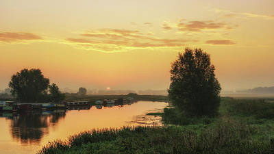 Photograph - Sunrise Over The Ouse by James Billings