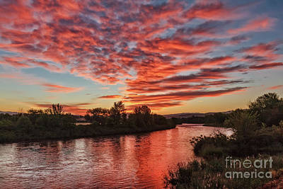 Photograph - Sunrise Over The Payette by Robert Bales