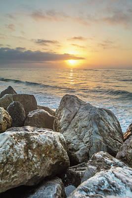 Photograph - Sunrise Over The Rocks  by John McGraw