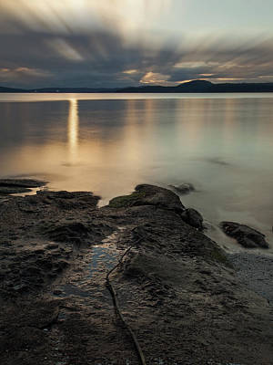 Photograph - Sunrise Over The Salish Sea - 365-351 by Inge Riis McDonald