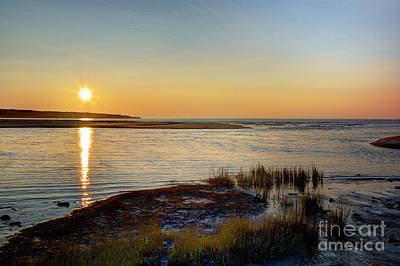 Photograph - Sunrise Over The Sandbars by Jean Hutchison