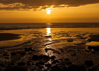 Sunrise Over The Sea Art Print by Svetlana Sewell