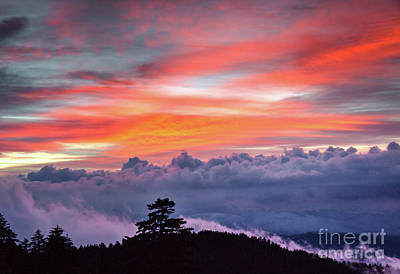 Photograph - Sunrise Over The Smoky's II by Douglas Stucky