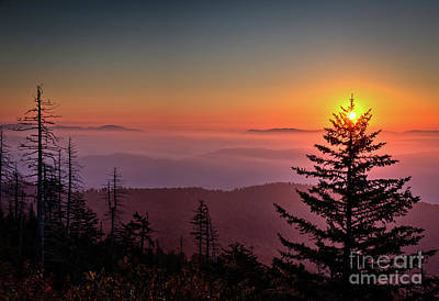 Photograph - Sunrise Over The Smoky's IIi by Douglas Stucky