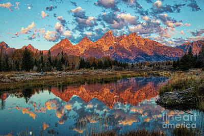 Photograph - Sunrise Over The Tetons 2.0 by Stefano Carini