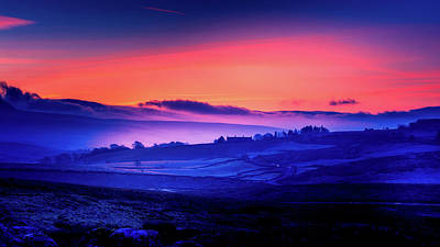 Photograph - Sunrise Over The Yorkshire Dales by Tim Hill