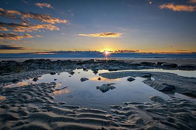 Sunrise Over Wells Beach Art Print by Rick Berk