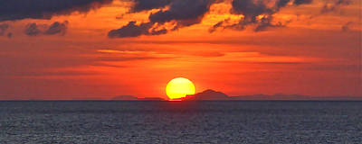 Sunrise Over Western Cuba Art Print
