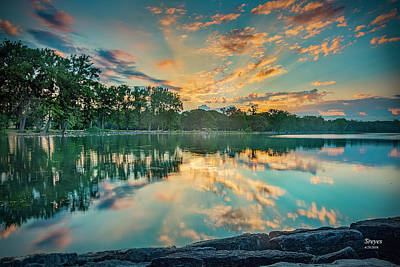 Willow Lake Photograph - Sunrise Over Willow Bay by Scott Reyes