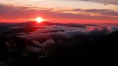 Photograph - Sunrise Over Wyvis by Gavin Macrae