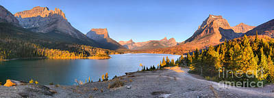 Photograph - Sunrise Panorama At Sun Point by Adam Jewell