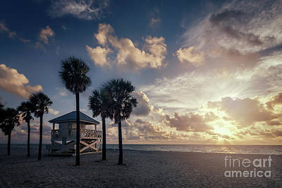 Shack Photograph - Sunrise Paradise by Evelina Kremsdorf