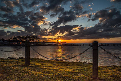 Photograph - Sunrise Park On James Island by Donnie Whitaker