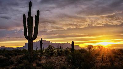 Photograph - Sunrise Peaking On The Horizon  by Saija Lehtonen