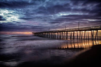 Photograph - Sunrise Pier by Pete Federico