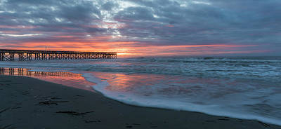 Photograph - Sunrise Pier by Thomas Pettengill