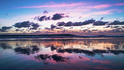 Sunrise Pink Wisps Delray Beach Florida Art Print