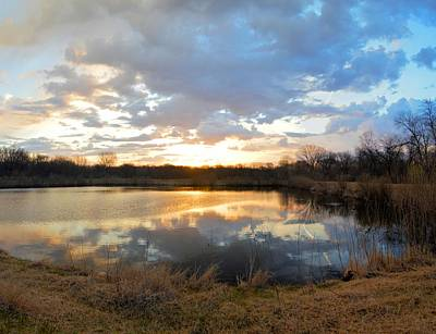 Photograph - Sunrise Pond 2 by Bonfire Photography