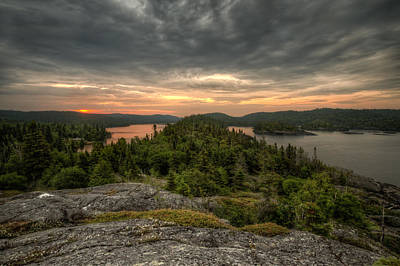 Gichigami Photograph - Sunrise Pukaskwa by Jakub Sisak