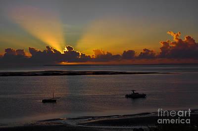Photograph - Sunrise Rays by Jeremy Hayden