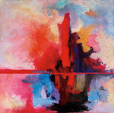 Sunrise Reflection Art Print by Bob Coonts