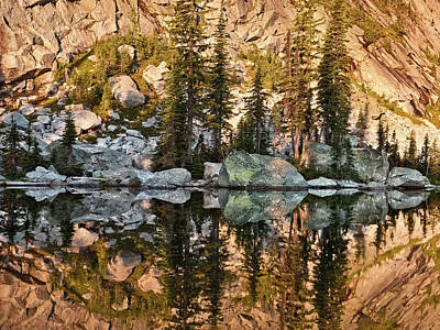 Photograph - Sunrise Reflection by Leland D Howard