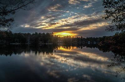 Photograph - Sunrise Reflections by Jane Luxton