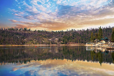 Photograph - Sunrise Reflections Over Bass Lake by Lynn Bauer