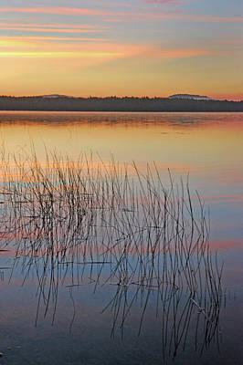 Photograph - Sunrise Reflections by Robert Anschutz