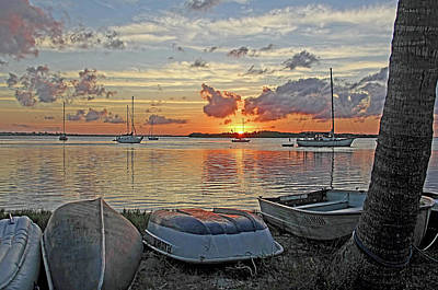 Photograph - Sunrise - Rise And Shine by HH Photography of Florida