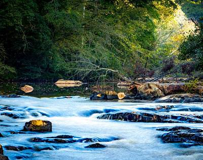 Photograph - Sunrise River by Ant Pruitt