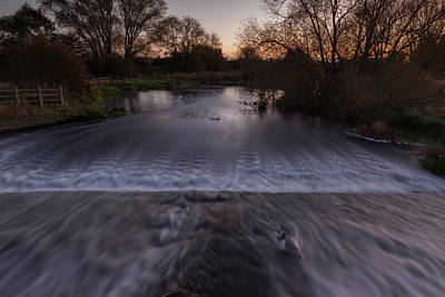 Photograph - Sunrise, River Nene. by Nick Atkin