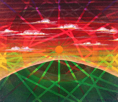 Sunrise Art Print by Rollin Kocsis