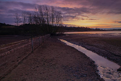 Photograph - Sunrise, Rutland Water by Nick Atkin