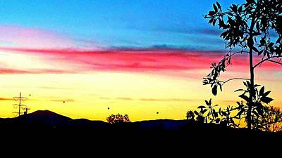 Photograph - Sunrise S A by Phyllis Spoor