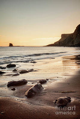 Photograph - Sunrise, Saltwick Bay by Colin and Linda McKie